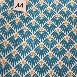 11 tissus lingettes eventail bleu 11