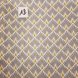 12 tissus lingettes plume gris or 12