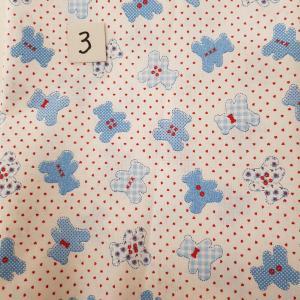3 tissus lingettes nounours bleu 3 1