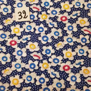 32 tissus lingettes fleurs 32