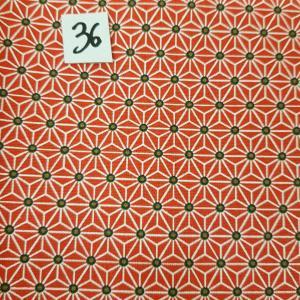 36 tissus lingettes fleurs rge 36