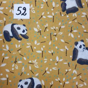 52 lingettes panda foret 52