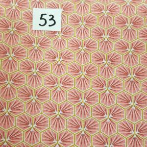 53 lingettes fleurs rose 54