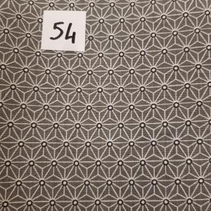 54 lingettes etoile gris 54