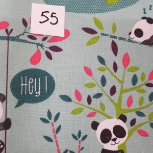 55 lingettes panda 55