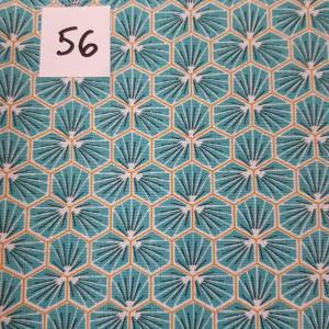 56 lingettes fleursbleu 56