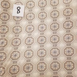 8 tissus lingettes fleurs coeur 8 1