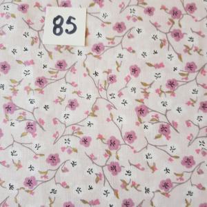 85 tissus flrs roses 85