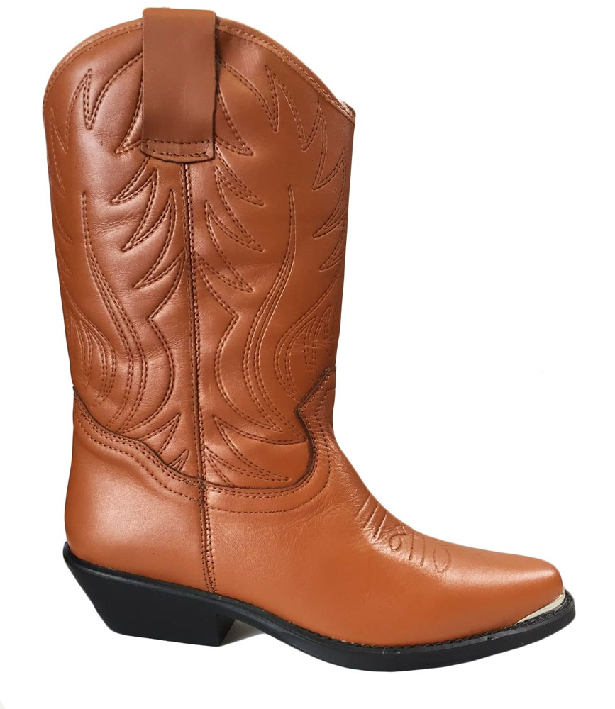Botte country marron
