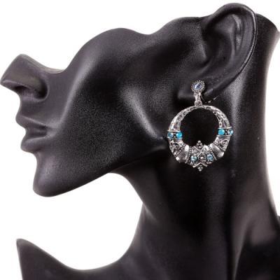Boucle d'oreilles turquoise