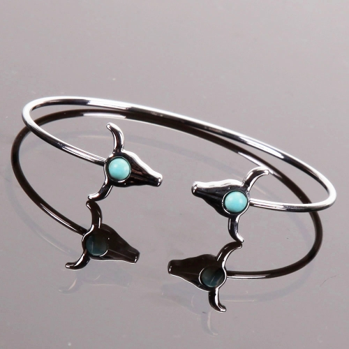 Bracelet buffle turquoise