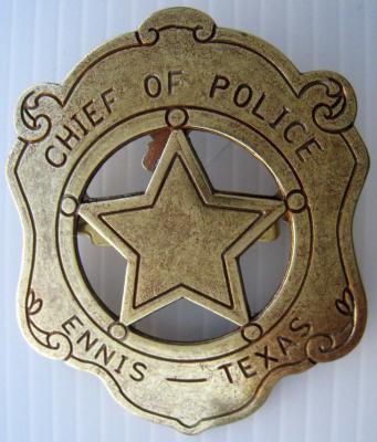 Etoile Chef de Police