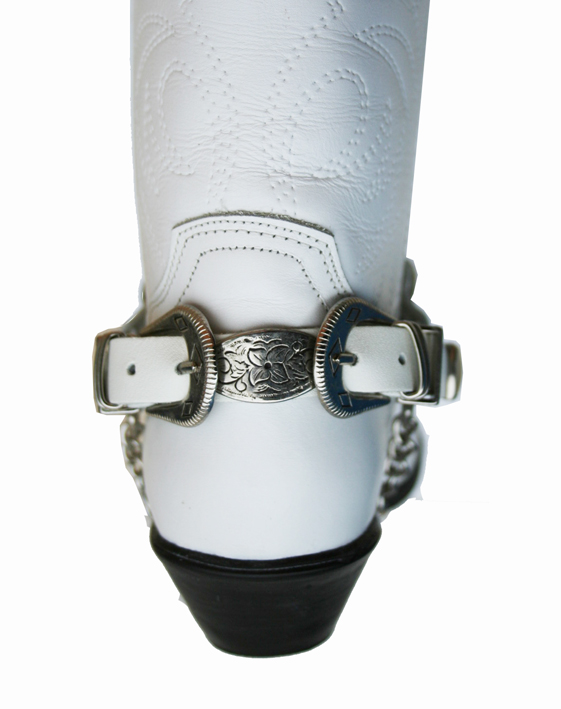 Chaine de botte blanche