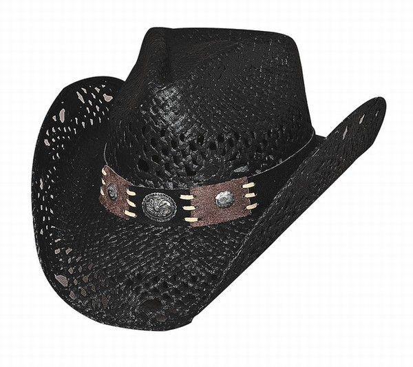 Chapeau pure country noir 2534w