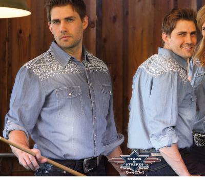 Chemise Jean avec motif