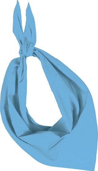 Demi bandana bleu ciel