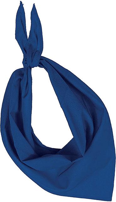 Demi bandana bleu dur