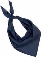 Demi bandana bleu navy