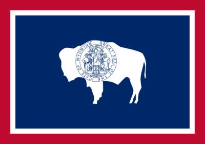 Drapeau Wyoming