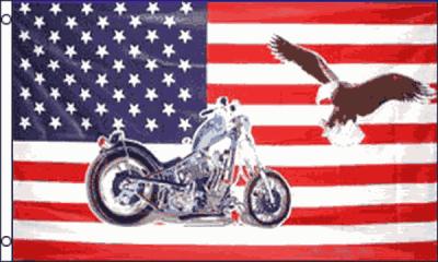 Drapeau moto