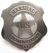 Etoile U.S Marshal Trombstone