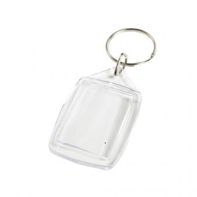 Porte clefs transparent