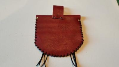 Pochette country rouge