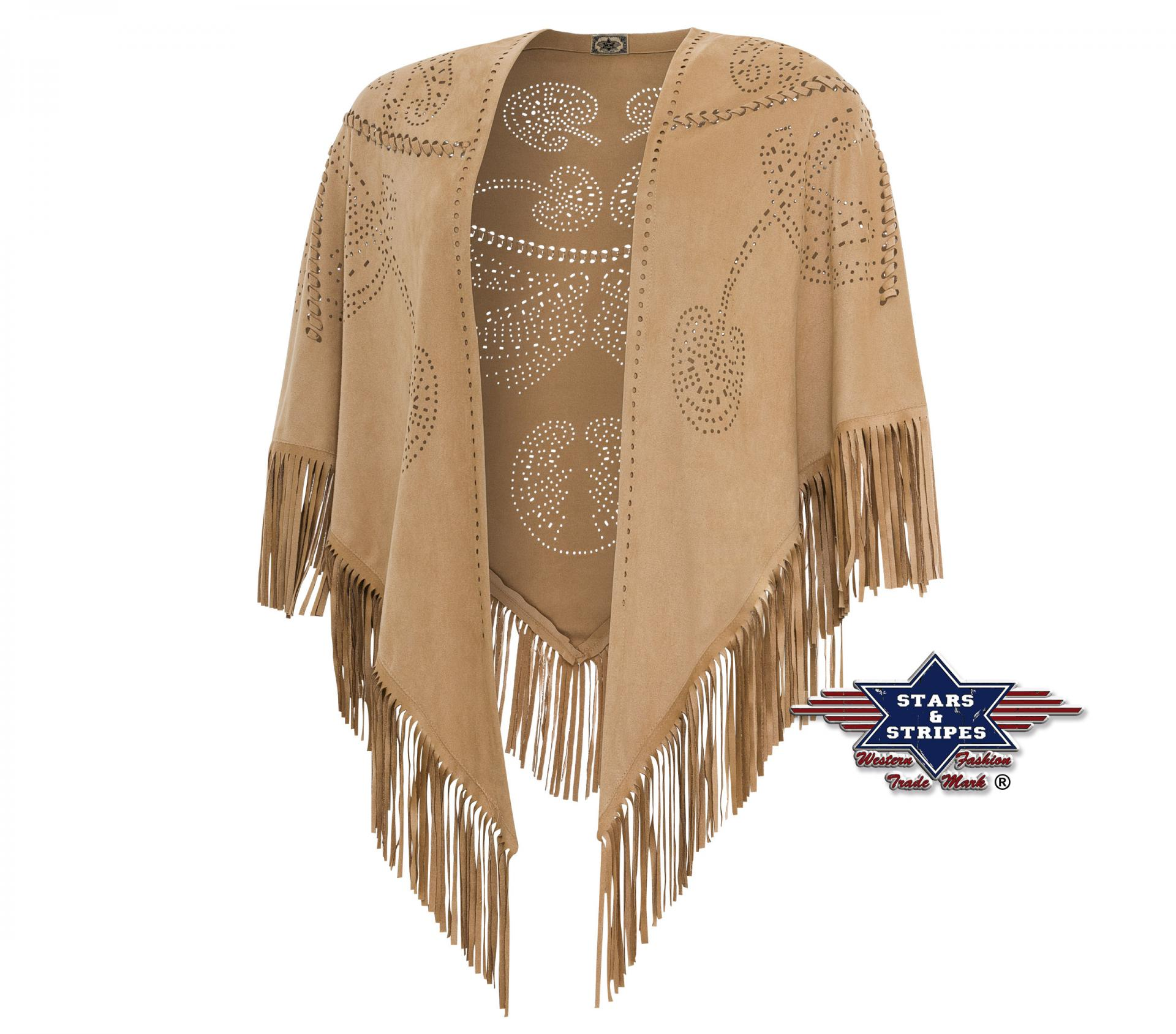 Poncho stars and stripes