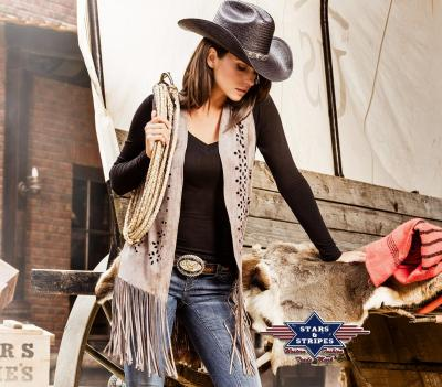 Gilet western